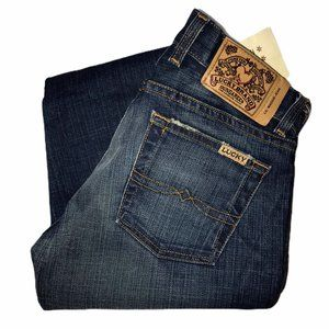 NWT Lucky Brand Lil' Maggie Button Fly Jeans 24 33